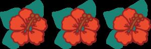 Aloha Triple Flower